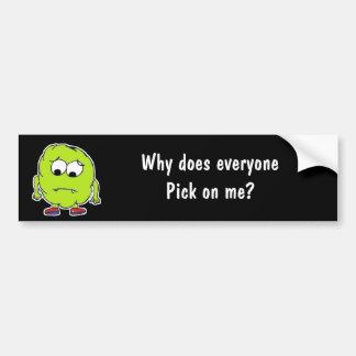Booger Man! - Funny Bumper Sticker