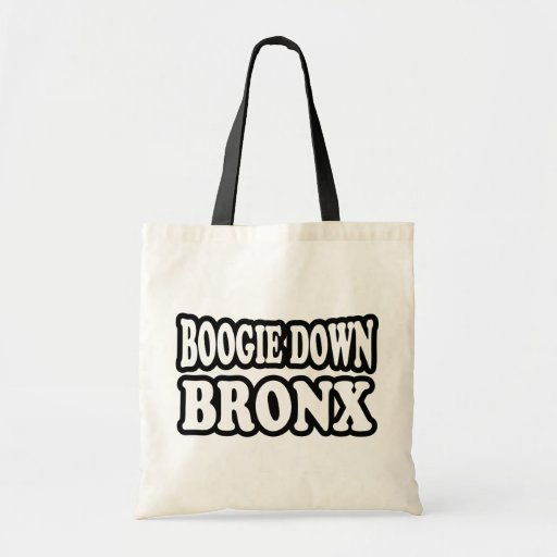 Boogie abajo Bronx Bolsas De Mano