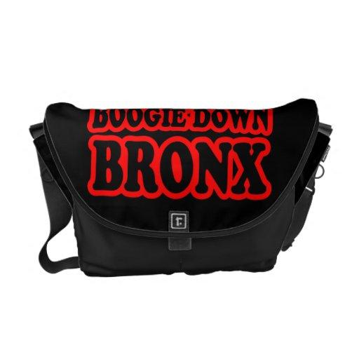 Boogie abajo Bronx Bolsas De Mensajería