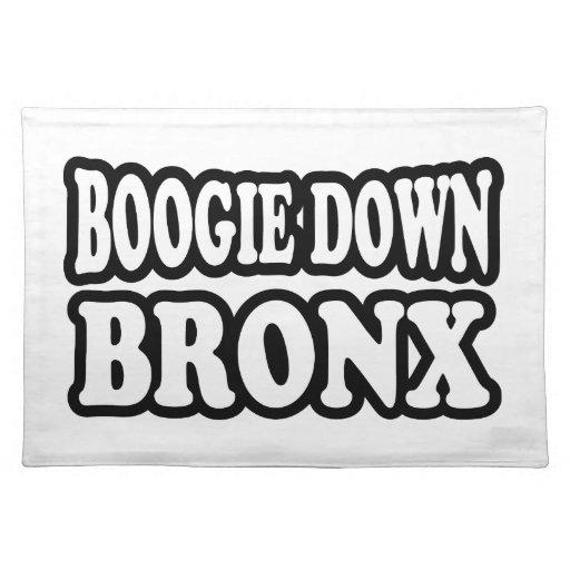 Boogie abajo Bronx Manteles