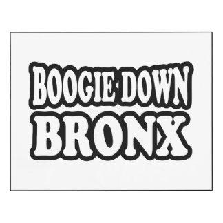 Boogie abajo Bronx, NYC Impresión En Madera