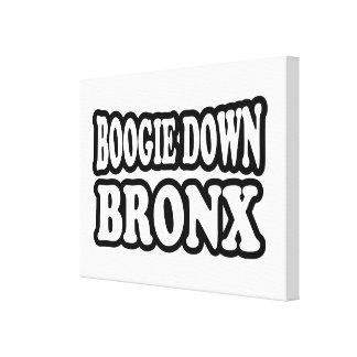 Boogie abajo Bronx, NYC Impresiones En Lona Estiradas