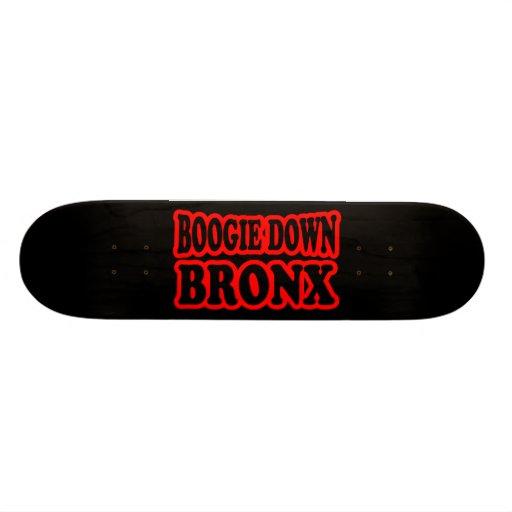 Boogie abajo Bronx Patín