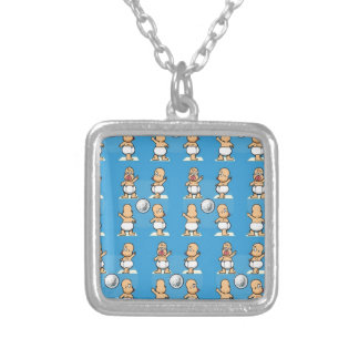 Boogie Baby Silver Plated Necklace