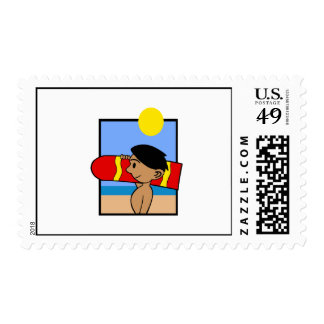 Boogie Board Postage Stamps