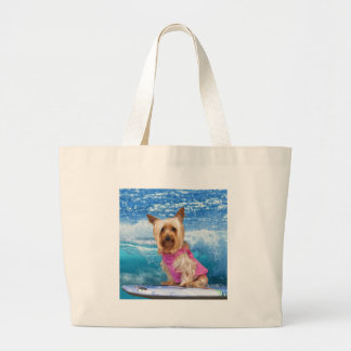 Boogie Boarding Large Tote Bag