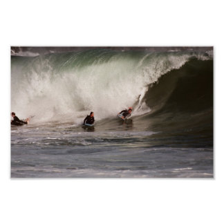 Boogie Boarding the Wedge poster