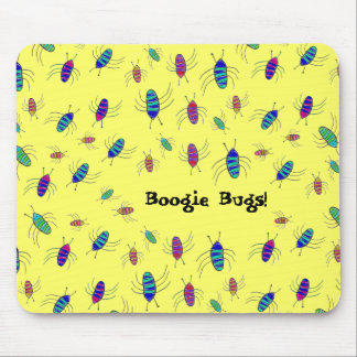 Boogie Bugs Mouse Mats