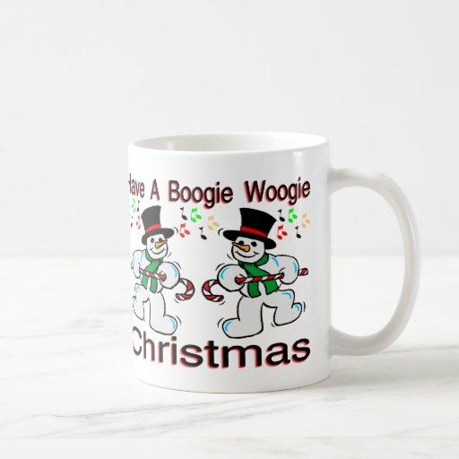 Boogie Christmas Classic White Coffee Mug