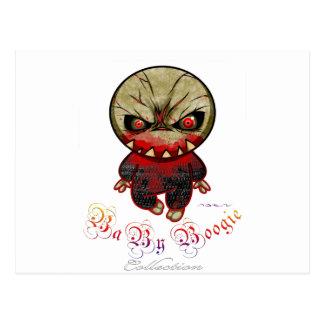 Boogie del bebé - punto del monstruo tarjetas postales