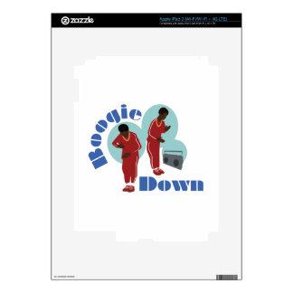 Boogie Down Boys iPad 3 Decal
