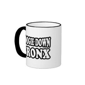Boogie Down Bronx Ringer Mug