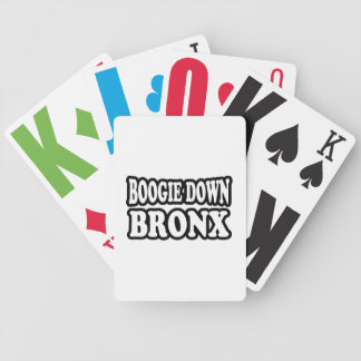 Boogie Down Bronx, NYC Bicycle Playing Cards