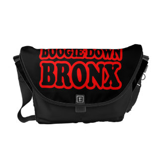 Boogie Down Bronx, NYC Courier Bag