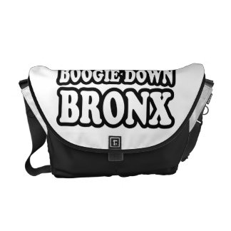 Boogie Down Bronx, NYC Messenger Bag