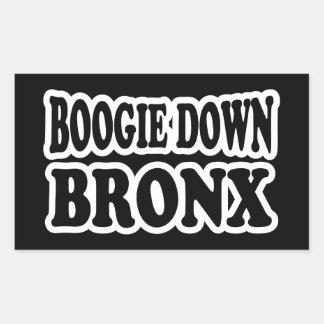 Boogie Down Bronx, NYC Rectangular Sticker