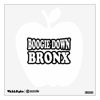 Boogie Down Bronx, NYC Wall Decal