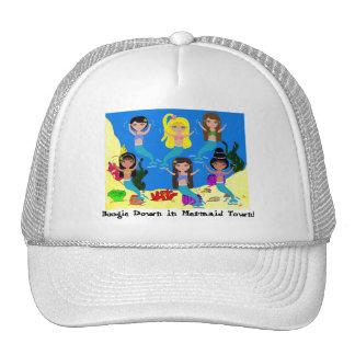 Boogie Down in Mermaid Town Ladies Cap Trucker Hat