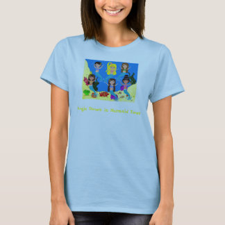 Boogie Down in Mermaid Town Ladies T-shirt