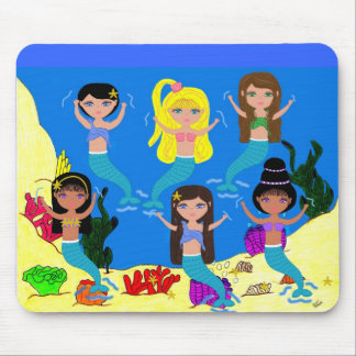 Boogie Down in Mermaid Town Mousepad