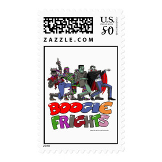 Boogie Frights® Halloween Postage Stamp
