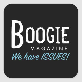Boogie Magazine Stickers - Square
