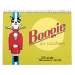 Boogie On Scooters 2015 Calendar *reprinted*