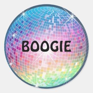 'BOOGIE' Sticker