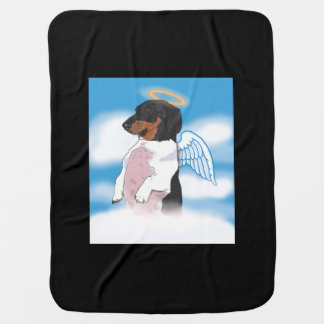 Boogie the little angel baby blanket