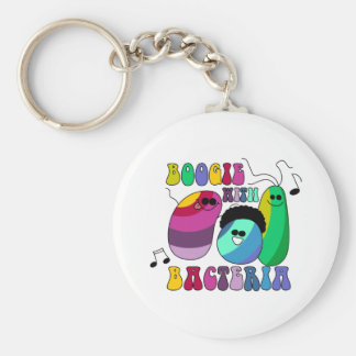 Boogie with Bacteria Keychain