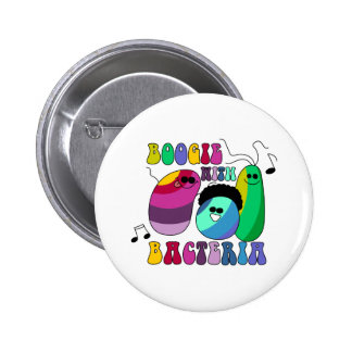Boogie with Bacteria Pinback Button