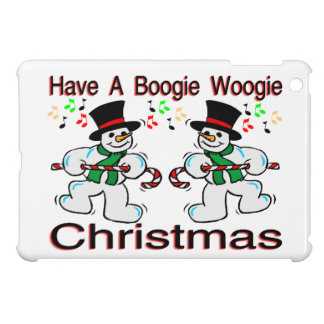 Boogie Woogie Christmas Snowmen iPad Mini Case