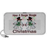 Boogie Woogie Christmas Snowmen iPhone Speaker