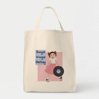 Boogie Woogie Darling Tote Tote Bags