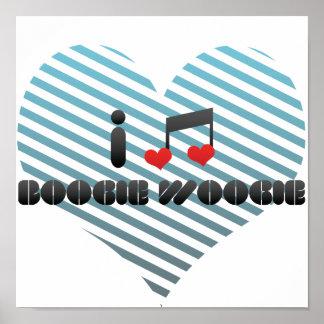 Boogie Woogie fan Poster