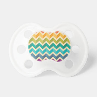 BooginHead Multi-color Pacifier, Zig-Zag pattern Pacifier