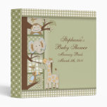 book2, Stephanie's, Baby Shower, Memory BookMar... 3 Ring Binder
