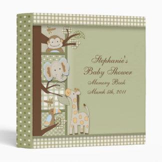 book2, Stephanie's, Baby Shower, Memory BookMar... 3 Ring Binder