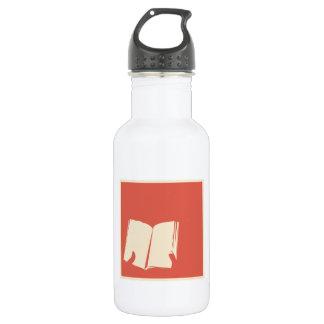 Book 18oz Water Bottle