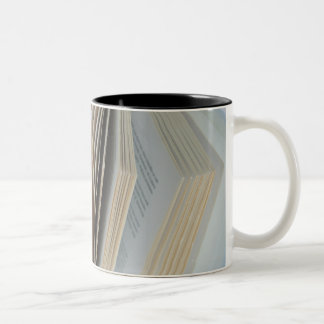 Book 3 Two-Tone coffee mug