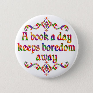 Book a Day Pinback Button
