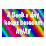 Book a Day Poster - Starting at $11.80