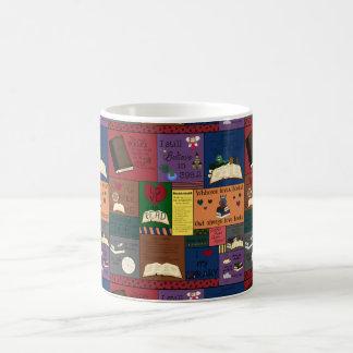 Book Addict Collage Coffee Mug