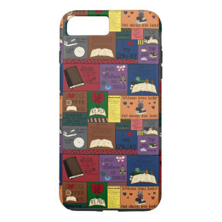 Book Addict Collage iPhone 7 Plus Case
