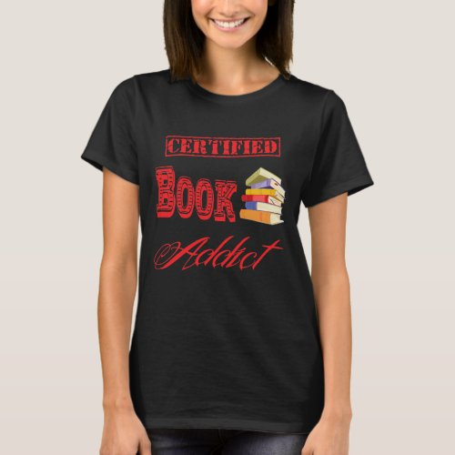 Book Addict dark T_Shirt