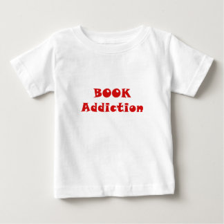 Book Addiction Baby T-Shirt