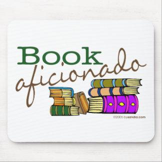 Book Aficionado Mouse Mat