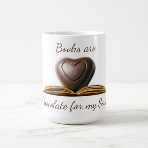 What could be better?! Book and Chocolate Lover's Mug