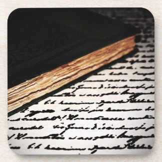 Book and Letter Coaster