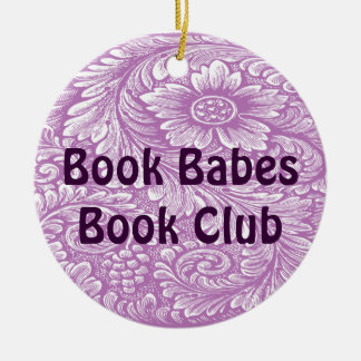 Book  and Reading Club Ornament